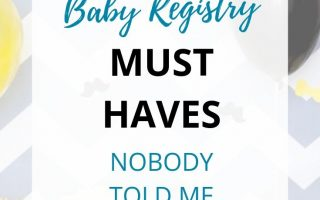 Baby registry must have for new moms. These 9 original baby registry must haves are essential for any new momma. #newmom #babyregistry #handfulofthoughts