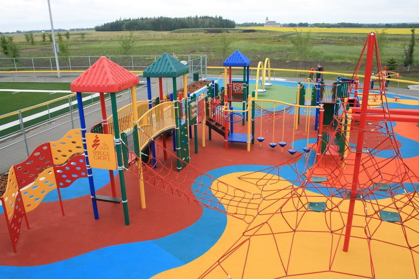 Rotary Playscape in Spruce Grove