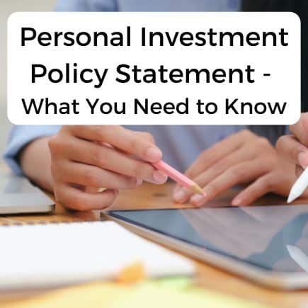 Everything you need to know about personal investment policy statements