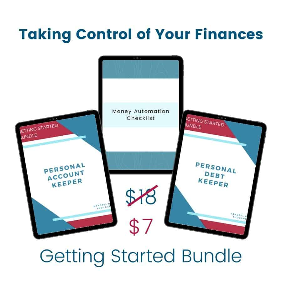 Exclusive offer for getting started bundle
