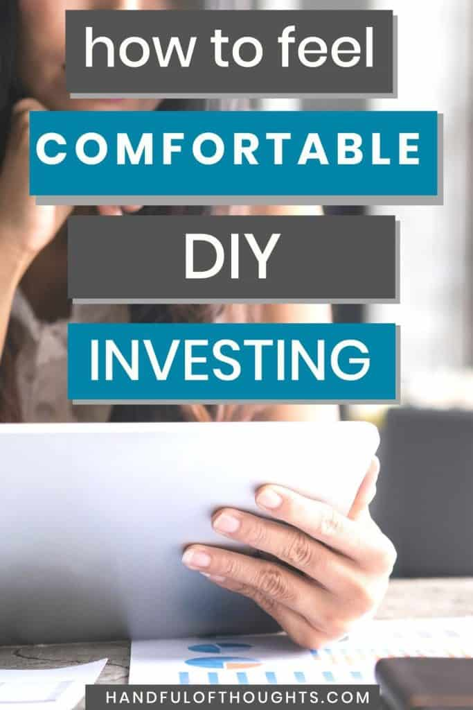 How to feel comfortable DIY investing