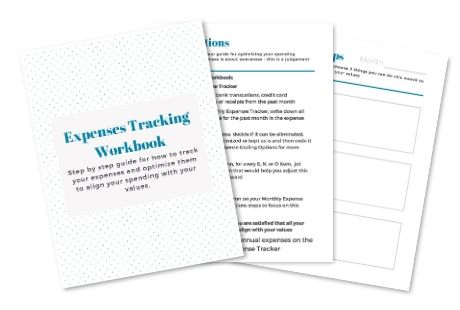 Free expense tracking workbook
