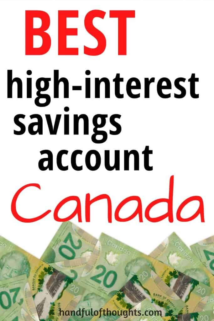 Best high-interest savings account Canada