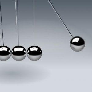 Newton's pendulum - Financial Inertia - Friend or Foe